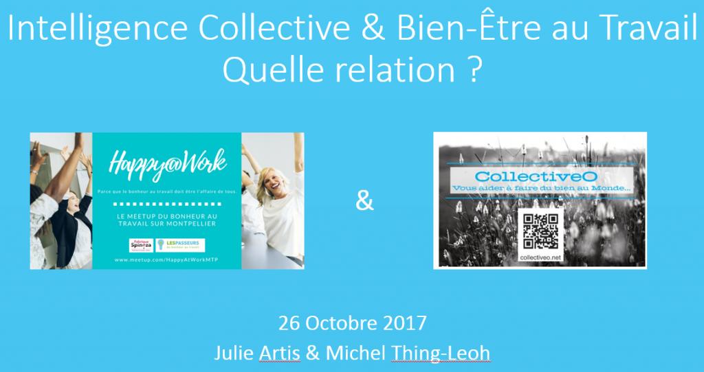 Relation entre Intelligence Collective et Bien-Être au Travail